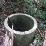 井戸を塞ぐ時の神事